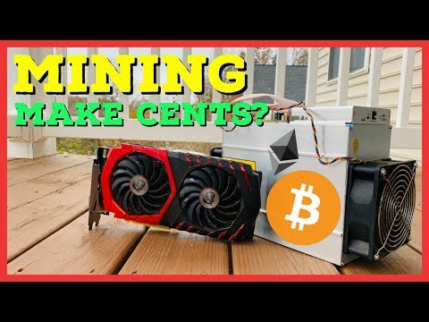 Does Cryptocurrency Mining Make Cents Anymore?! GPU vs ASIC vs Spec. Mining