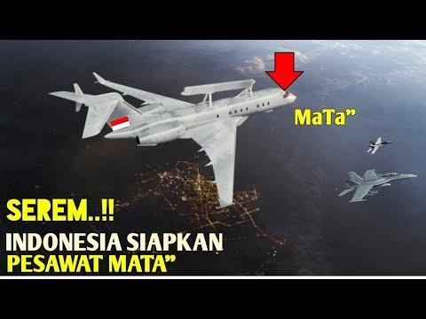 """Sering Ada Pesawat Asing Masuk- TNI SIAPKAN PESAWAT MaTa"""" SuPer CanggiH"""