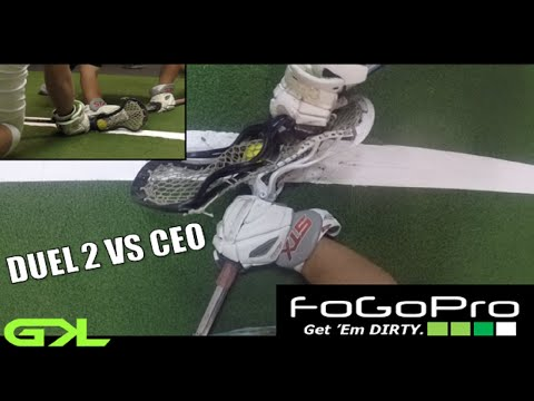 GKL┇GOPRO FACEOFF SERIES: STX DUEL 2 VS NIKE CEO