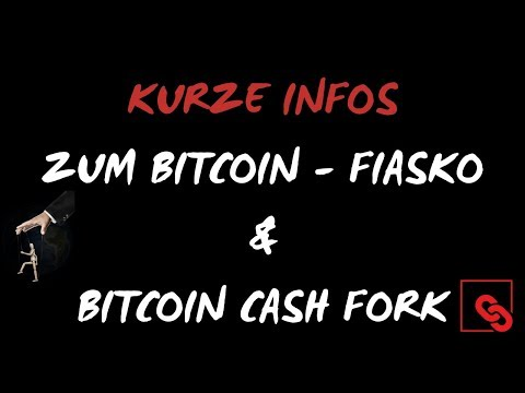 BITCOIN FIASKO – Was nun ?! ⏰ BITCOIN CASH HARDFORK – HEUTE ! 15 NOV 2018