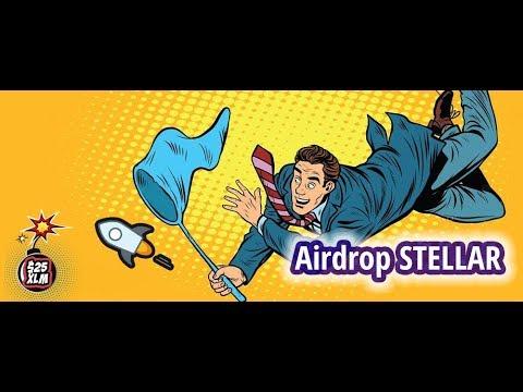 Airdrop Stellar (25 долларов в токенах XLM) от кошелька BlockChain