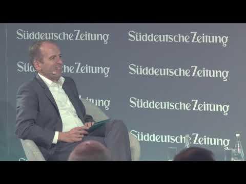 IOTA – Dominik Schiener @ Süddeutsche Zeitung Wirtschaftsgipfel 2018 (English)