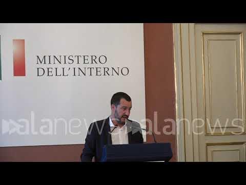 """Condono Ischia, Salvini: """"Speriamo sia l'ultimo"""""""
