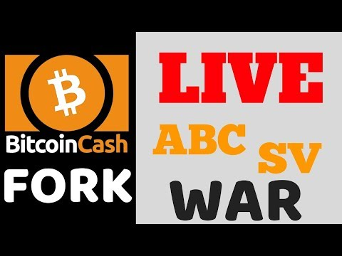 Bitcoin Cash Fork LIVE – ABC vs SV Hash War