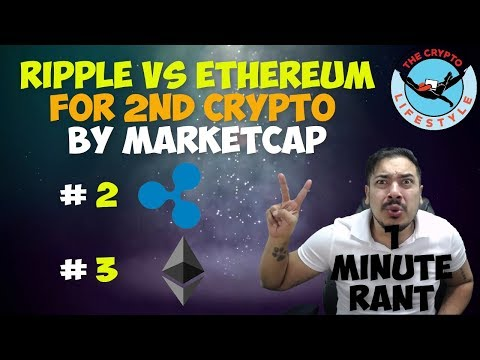 Breaking News: Ripple Over Takes Ethereum   1 Minute Rant