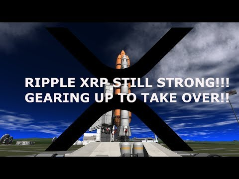 RIPPLE XRP STILL STRONG!!! GEARING UP TO TAKE OVER!!