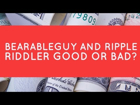 Why the $589 hate? Ripple Riddler and Bearableguy123 GOOD or BAD?