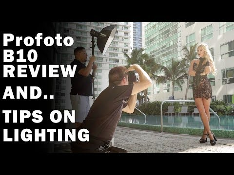 Profoto B10 REVIEW | Featuring Canon EOS R | REAL WORLD SHOOT!
