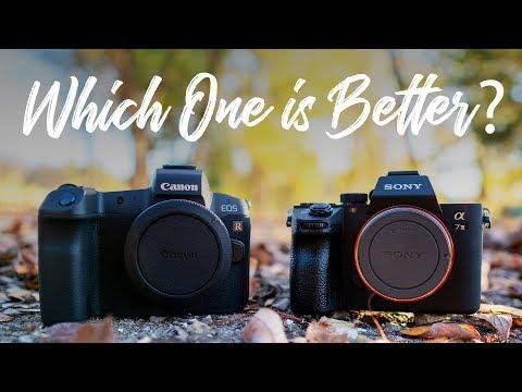 Canon EOS R vs Sony a7III – QUICKEST COMPARISON EVER!!