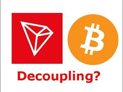 TRON(TRX) DEX reaches 100 million TRON in volume, will TRON decouple from BTC?