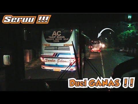 SERUU !!! GANAS & LINCAHNYA Bus Yang satu ini Melibas Semua Yg ADA !!!