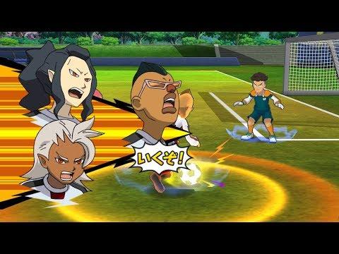 Inazuma Eleven Go Strikers 2013 Neo Japan Vs Raimon GO Wii 1080p (Dolphin/Gameplay)