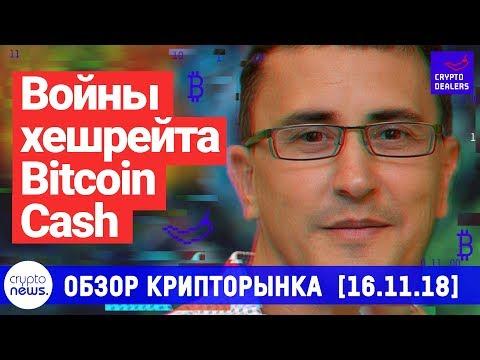 Войны хешрейта Bitcoin Cash. Конфликт, от которого страдают все