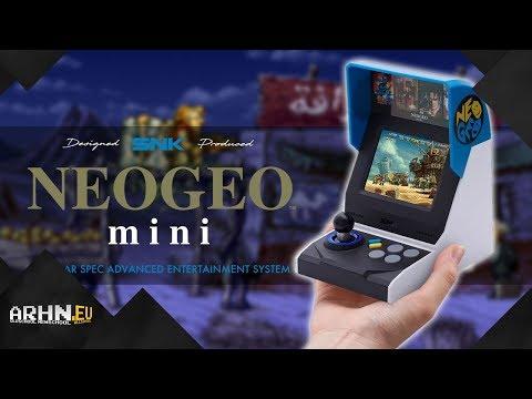 Neo Geo Mini – miniaturka dla fanów automatówek