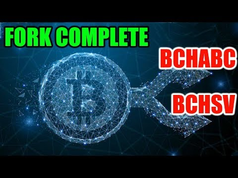 Bitcoin Cash Fork Complete – BCHABC and BCHSV