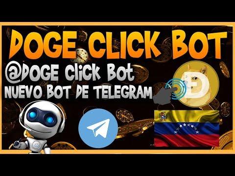 DOGE Click Bot ➡️Exelente bot de telegram  para generar dogecoin facil y sencillo 【+PRUEBA DE PAGO】✅