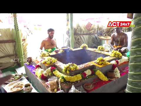 Devotees Participating in Chandi Yagam & Laksha Kumkumarchana at Nellore VRC || ACT24X7HDNEWS