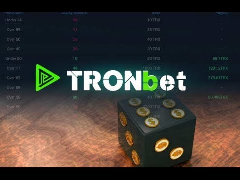 Rolling Crypto Dice And Mining ANTE At Tronbet | TRON Dapp Game