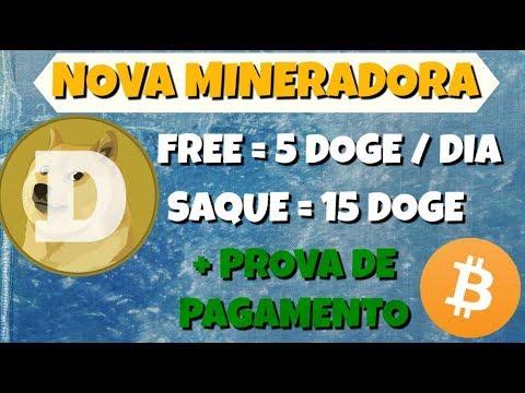 SCAM Mineradora DOGE FREE 5 Dogecoin 300% Diário DogeHarvest | Prova de Pagamento Bitcoin NorthMine