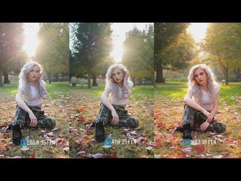 Sony A7iii vs Canon EOS R vs Fujifilm X-T3 (Backlight Portraits) w/ @illmindofapril