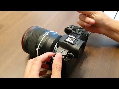 Canon EOS R – Mirrorless Fullframe đầu tiên của Canon – Xịn quá…huhu