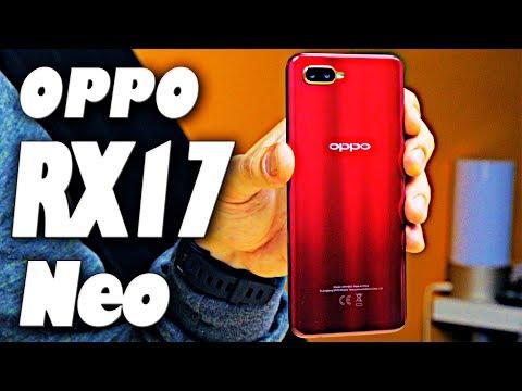 Распаковка Oppo K1 / RX17 Neo. Годный смарт за 216$ с отпечатком в экране!