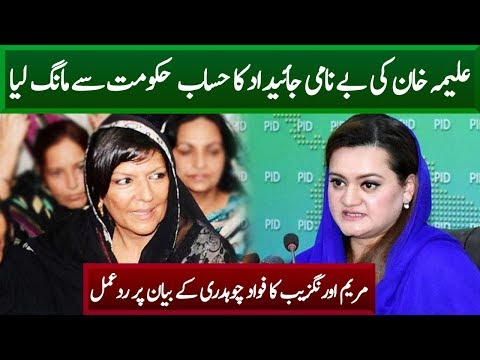 Maryam Aurangzaib Strong Reply to Fawad Ch | Neo News