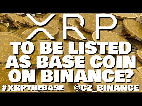 Ripple XRP – Binance CEO Hints at Making XRP Base Coin for Exchange