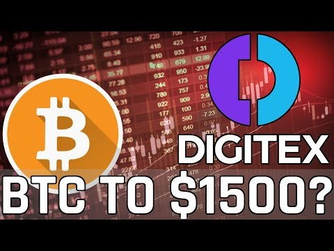 Bitcoin to Dump to $1500? Digitex Futures DGTX Up 40%! (Cryptocurrency News)