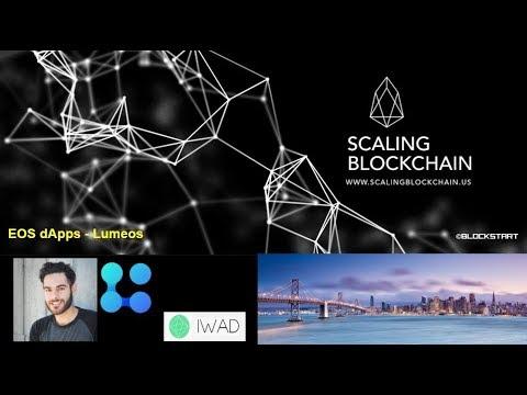 Scaling Blockchain 2018: (10) EOS dApps – Lumeos