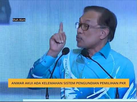 Anwar akui ada kelemahan sistem pengundian pemilihan PKR
