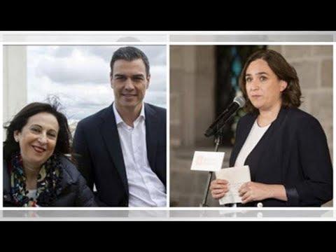 Sánchez y Robles se arrastran ante Ada Colau e impiden al Ejército acudir al Salón de la Enseñanz…