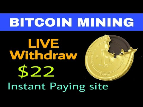 Bitcoin Mining Site Payment Proof | Earn Bitcoin Instant Paying Site