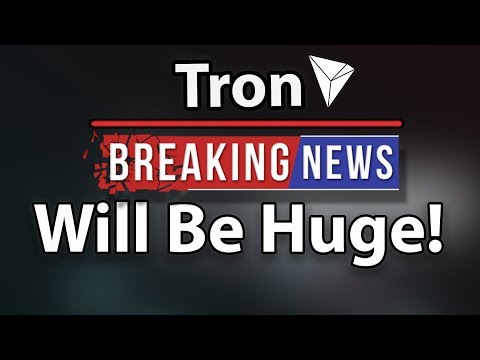 Tron (TRX) Is Going To Be Huge, Despite Price Decrease!