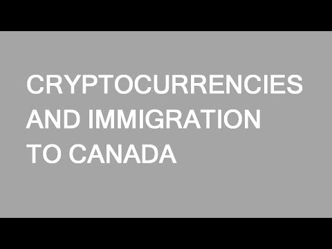 Cryptocurrency and immigration to Canada? A few side notes. LP Group