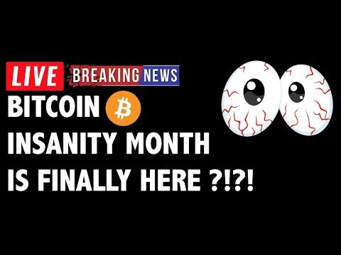 INSANITY Month for Bitcoin (BTC) is Here?! – Crypto Market Technical Analysis & Cryptocurrency News