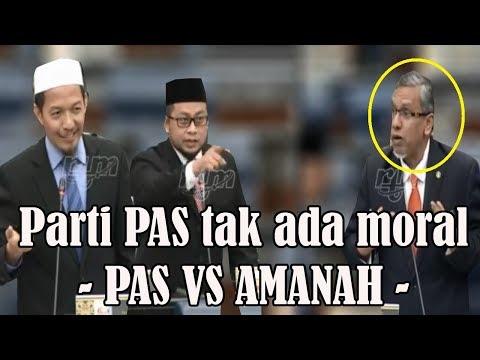 Parti PAS tak ada moral !! – Menteri AMANAH serang YB PAS