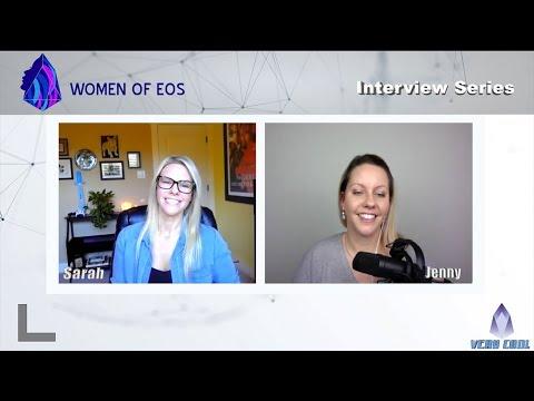 Women of EOS EP#4 – Sarah Krause of bitjoy.io