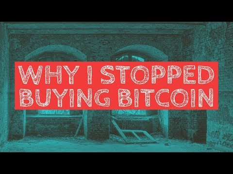 Why I stopped buying #Bitcoin and started buying #XRP