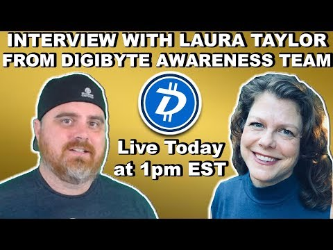 Interview with Laura Taylor from DGB Awareness Team | BitBoy Crypto Livestream