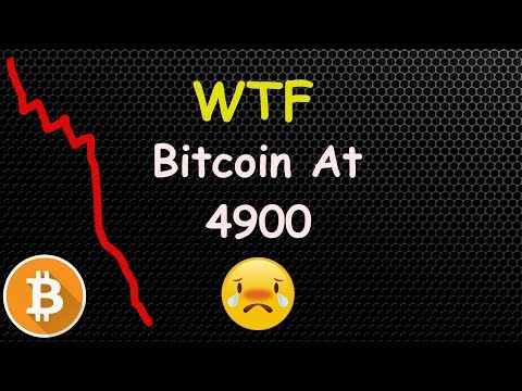 OMG! Bitcoin 4900 – Buy The Dip Or Sell?