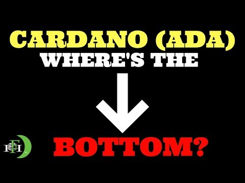 Cardano ADA | WHERE'S THE BOTTOM?