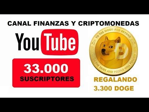 Celebrando los 33.000 Suscriptores – Regalando DOGECOIN  + Noticias Del Portafolio