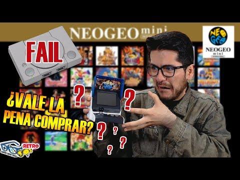 Neo Geo Mini – ¿Vale la pena comprar? – Juegos, precio, periféricos | Retro SQS