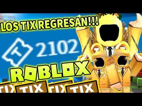 ¿Que pasaria si los Tix no hubieran sido borrados de Roblox?