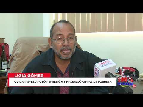 Ovidio Reyes del BCN se mostró indolente ante la masacre de abril, según testimonio de Ligia Gómez