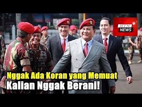 Mantan Panglima TNI Bela Prabowo: Nggak Ada Koran yang Memuat, Kalian Nggak Berani!