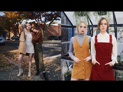 Editorial Style Behind the scenes w/ @vintage_barbiedoll & @hollyseesstars (EOS R, A7iii & X-T3)
