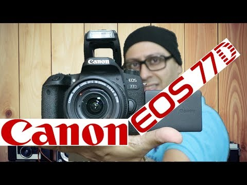 Canon EOS 77D Unboxing and Features (Hindi)