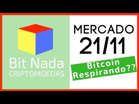 Mercado de Cripto! 21/11 Bitcoin Respirando? / Bakkt / Guerra Bitcoin Cash